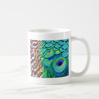 Peaceful Peafowl Flow Coffee Mug