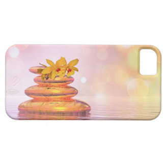 Peaceful pebbles - 3D render Barely There iPhone 5 Case