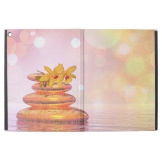 "Peaceful pebbles - 3D render iPad Pro 12.9"" Case"