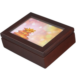 Peaceful pebbles - 3D render Keepsake Box