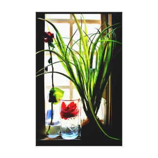 Peaceful Plants Canvas Print