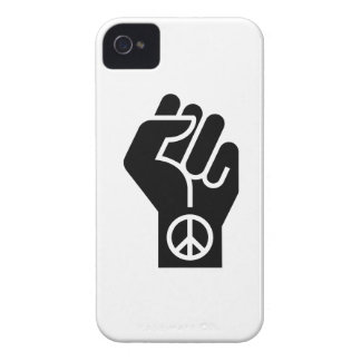 Peaceful Protest Pictogram iPhone 4 Case