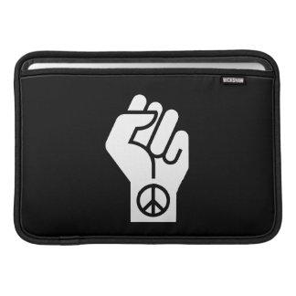 Peaceful Protest Pictogram MacBook Air Sleeve