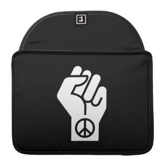 Peaceful Protest Pictogram MacBook Pro Sleeve