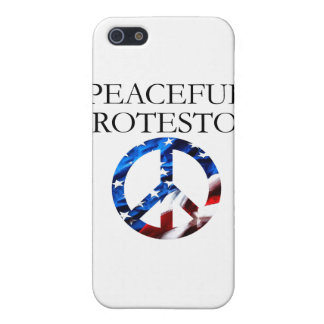 Peaceful Protestor iPhone 5 Covers