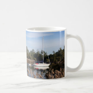 Peaceful sail coffee mug