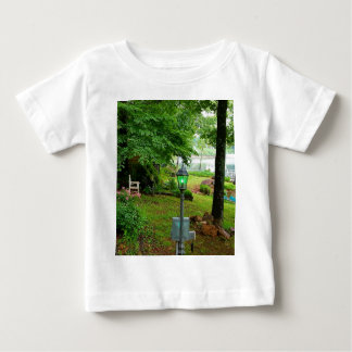 Peaceful Scenic Lakefront View Baby T-Shirt