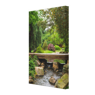 Peaceful Spring Creek Canvas Print