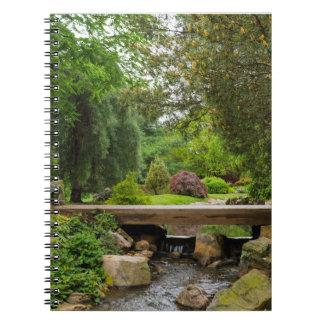 Peaceful Spring Creek Notebook