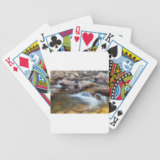 Peaceful Stream Bicycle Playing Cards