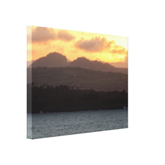 Peaceful Sunset Canvas Print