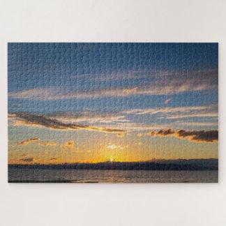 Peaceful Sunset Jigsaw Puzzle