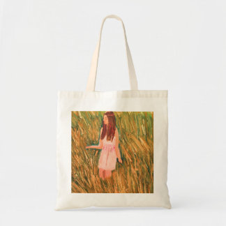 Peaceful thinking budget tote bag