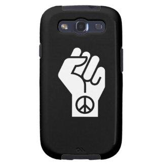 Peaceful Violent Protest Pictogram Galaxy S3 Case