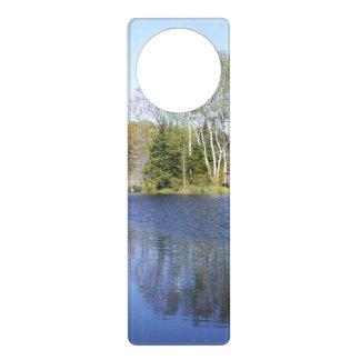 Peaceful Water Scene Door Hangers