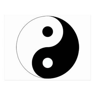 Peaceful Yin Yang Postcard