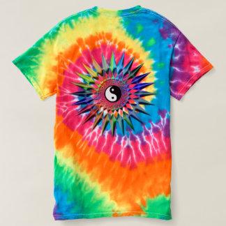 Peaceful Yin Yang Zen Yoga Colorful Meditation Tao T-Shirt