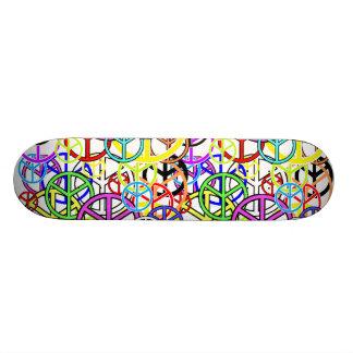 peacesigns 20.6 cm skateboard deck