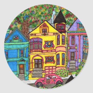 Peacetown Classic Round Sticker