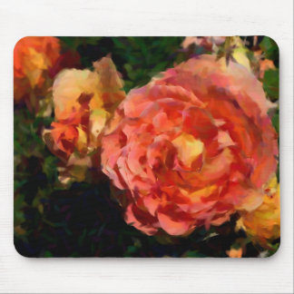 Peach And Orange Products Mouse Pad