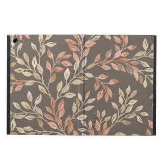 Peach and Tan Foliage iPad Air Case