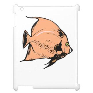 Peach Angel Fish iPad Covers