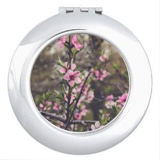 Peach Blossom Compact Mirror