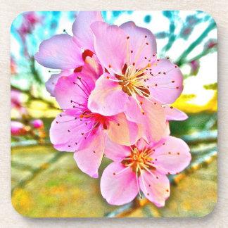 Peach Blossoms Coaster