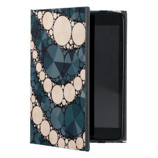 Peach Blue Green Zebra Bling Covers For iPad Mini