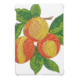 peach branch, imitation of embroidery iPad mini covers