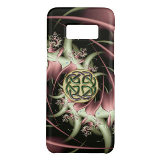 Peach Bronze Fractal Celtic Knot Case-Mate Samsung Galaxy S8 Case