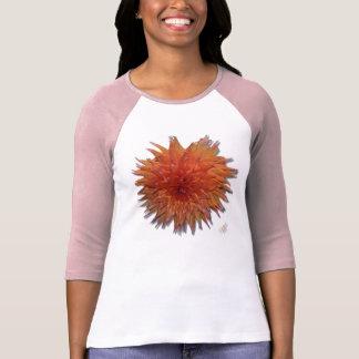 Peach Dahlia T-shirt