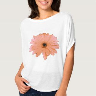 Peach Daisy accent T-Shirt
