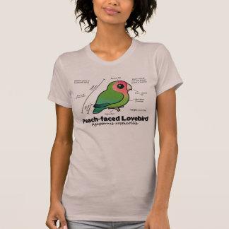 Peach-faced Lovebird Statistics T-Shirt