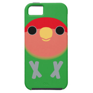 Peach-faced Lovebird Tough iPhone 5 Case