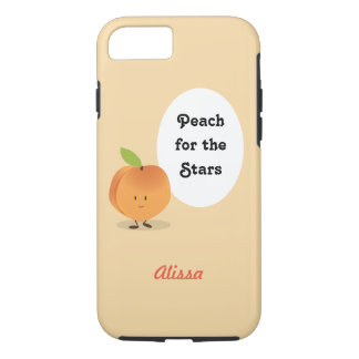 Peach for the Stars | iPhone 8/7 Case