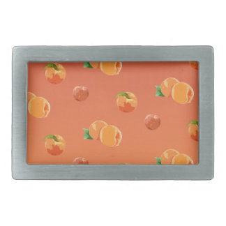 Peach Fruit Pattern Belt Buckle