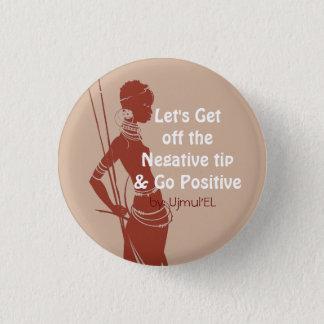 Peach Go Positive button