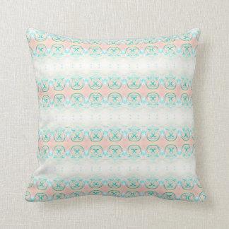 Peach & Green Frost pillow Throw Cushions