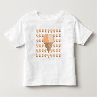 Peach Ice Cream Cone T-Shirt