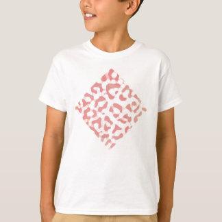 Peach leopard print T-Shirt