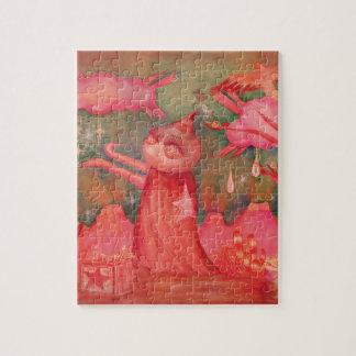 peach man jigsaw puzzle