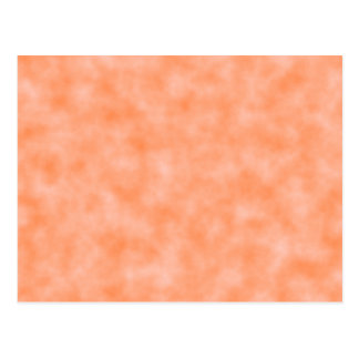 Peach Marbleized Postcard