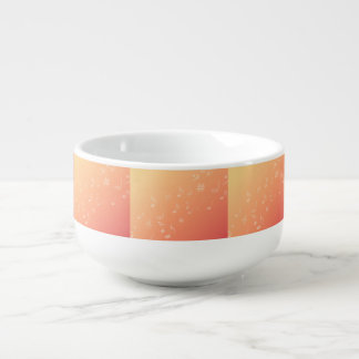 Peach Music Soup Mug