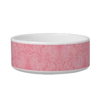 Peach Pink Floral twists Bowl