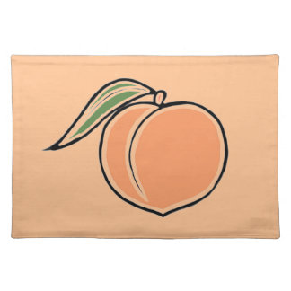 Peach Placemat
