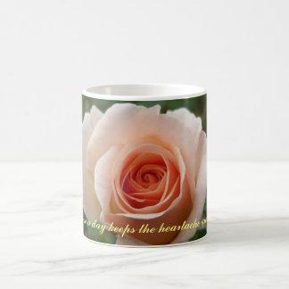 Peach Rose Coffee Mug