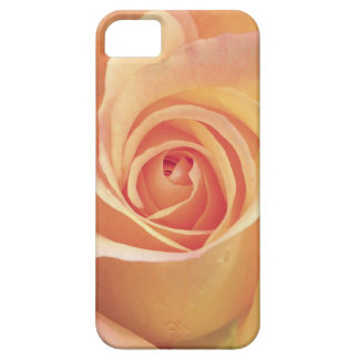 Peach Rose floral phone case