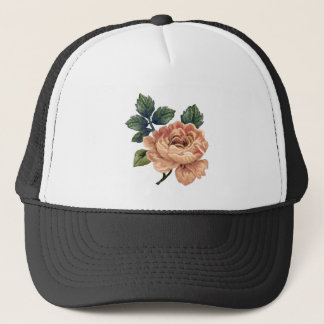 Peach Rose - Vintage Makeover. Trucker Hat