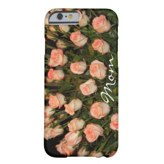PEACH ROSES IPHONE TOUGH CASE TEMPLATE BARELY THERE iPhone 6 CASE